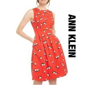 Ann Klein Red Dress